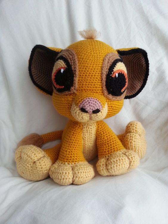 Lion King Amigurumi : Disney, Crochet baby and Babies on Pinterest