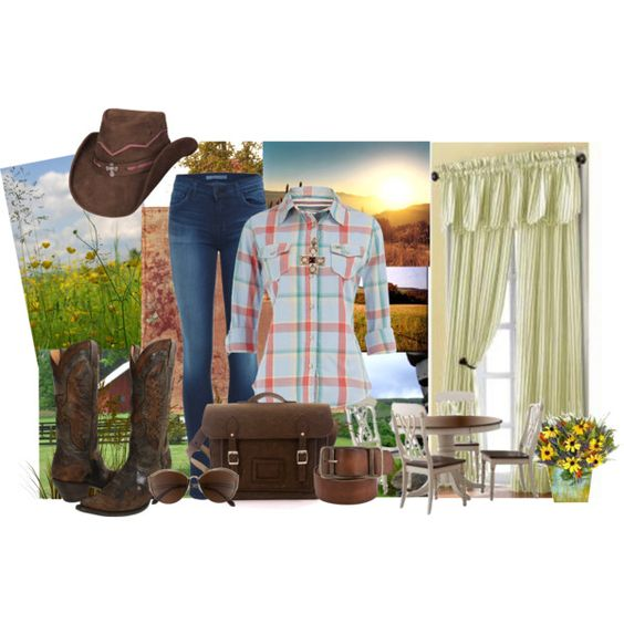 """""""Country Living"""" by laaudra-rasco on Polyvore"""