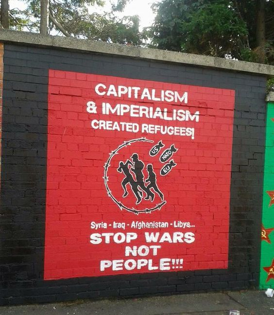 How is the war in iraq an example of imperialism?