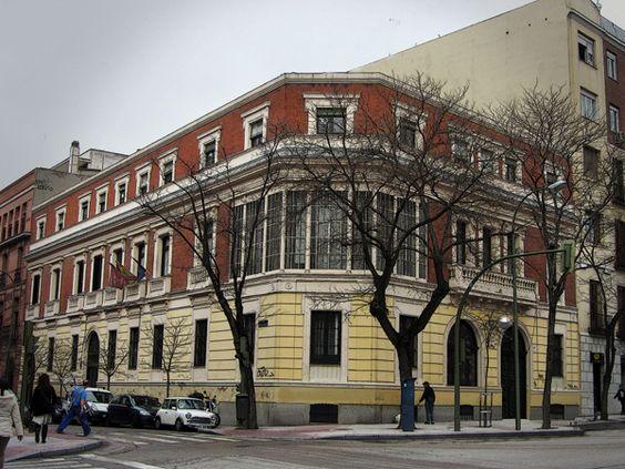Palacetes de madrid palacete del conde de vilana c santa for Oficina de madrid santa engracia