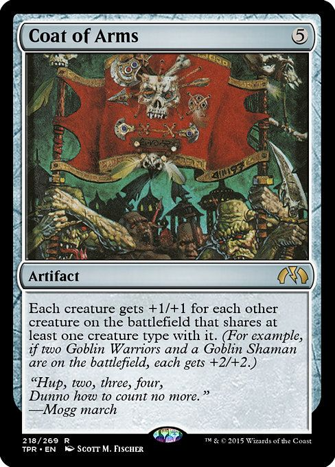 MTG x4 Goblin TOKEN Commander Anthology II Magic the Gathering NM//M
