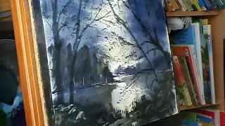 loose watercolor painting - YouTube