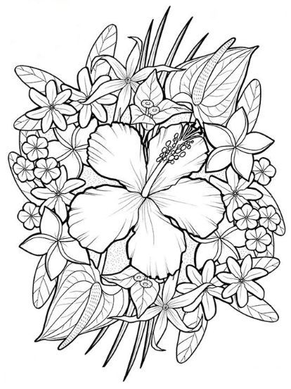 Omeletozeu Flower Coloring Pages Summer Coloring Pages Coloring Pages