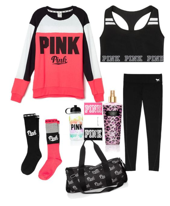 """Victoria Secret's Pink"" by anaisonedirection on Polyvore featuring mode, Victoria's Secret et Victoria's Secret PINK"