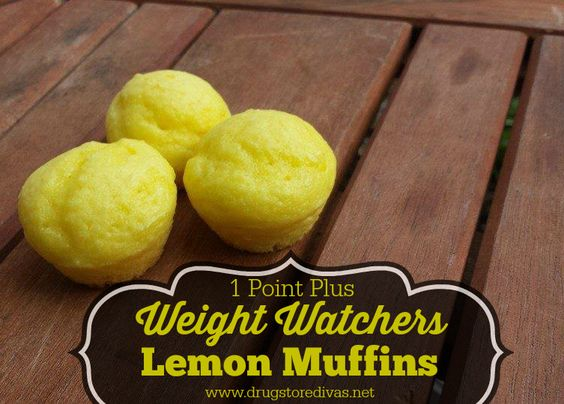 Weight Watchers Lemon Muffins Recipe (1 Point Plus or 2 Smart Points)