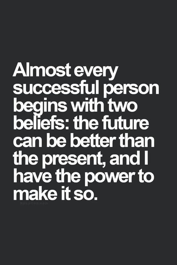 Don't be the one in the way of your own success. Stop dwelling on what hasn't yet happened. Focus on what has and what will happen. Believe in  the power of right now. Find hope in your future and the power within you to make all of your dreams come true. You can do it! - read: http://livepurposefullynow.com/beliefs-that-jeopardise-your-success/