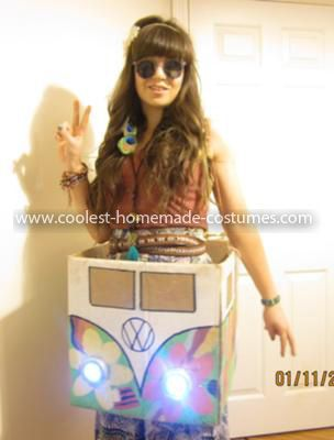 Homemade Hippie Costume: ' What year is it? '   Firstly I would like to start off by saying how much I love Halloween costumes especially DIY costumes. I feel that they generate