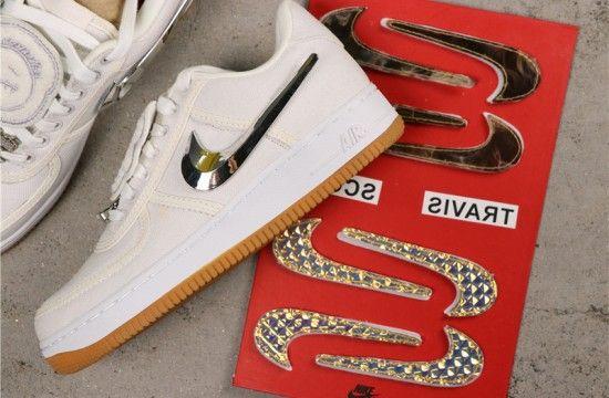 Nike Air Force 1 Low Travis Scott Sail Aq4211 101 Nike Air Force