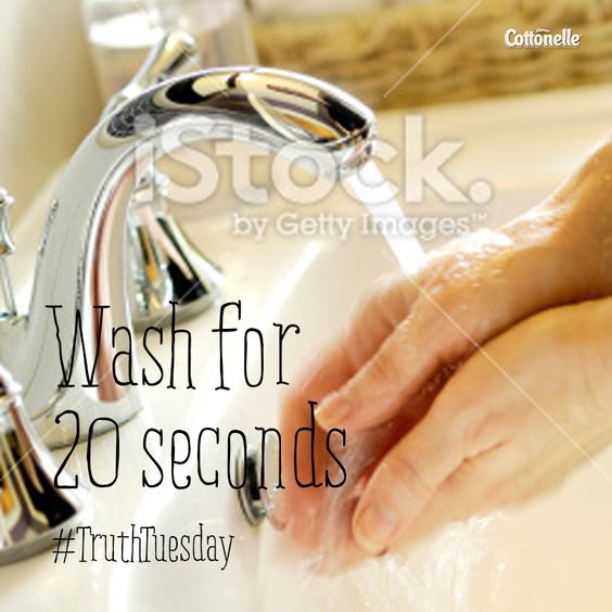 #TruthTuesday: Wash your hands after you go. EVERY. SINGLE. TIME.