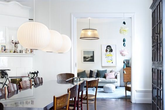 a: Dining Rooms, Dining Area, Living Spaces, Livingroom, George Nelson, Living Room, Diningroom