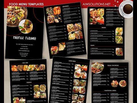 Food Menu Id26 Food Menu Template Food Menu Restaurant Menu
