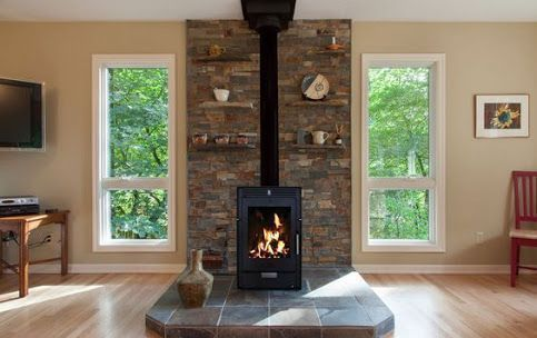 Image Result For Stone Freestanding Fireplace Nz Fireplace Freestanding Freestandingfire In 2020 Freestanding Fireplace Wood Stove Fireplace Freestanding Stove