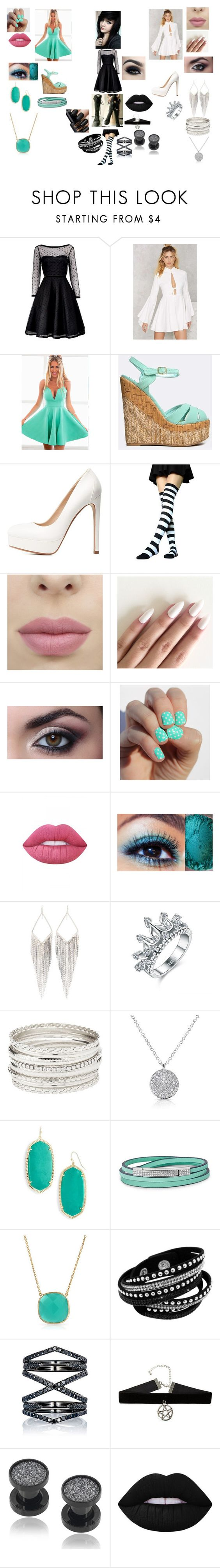 """""""The Outcast"""" by fallenangel889 ❤ liked on Polyvore featuring beauty, Marc by Marc Jacobs, Nasty Gal, Qupid, Charlotte Russe, Converse, Lime Crime, Jules Smith, Kendra Scott and FOSSIL"""