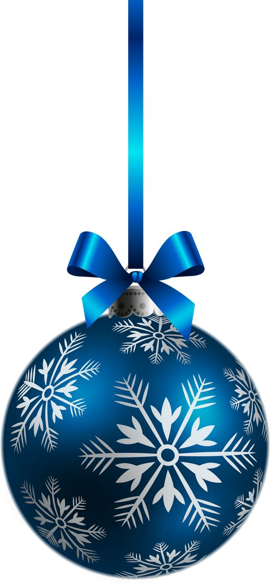 Christmas ornament clip art silver ornaments