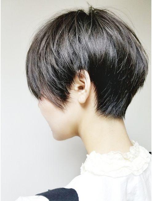 ショート フェザーショート 黒髪スタイル Tomo L019459101