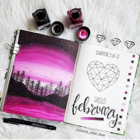Bullet journal rose