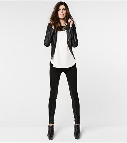 Black u0026 white outfit for a girlsu0026#39; night out! | Lookbook | Pinterest | Cas Bad girls club and ...