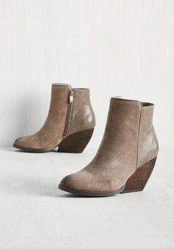 Just Say Wedge Bootie