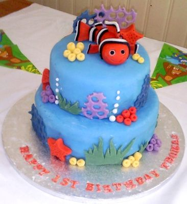 First Birthday Cakes Little Boys Design theme birthday ...