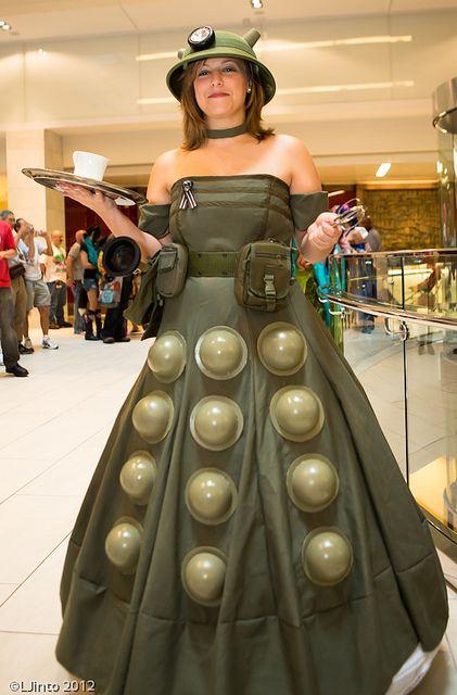 #Dalek #Cosplay #DoctorWho // DragonCon 2012 Day 1-56 by LJinto, via Flickr