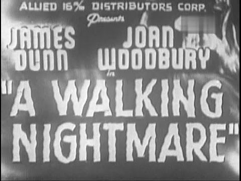 A Walking Nightmare The Living Ghost Lend Me Your Ear William Beaudine 1942 Youtube Castle Movie Nightmare Mystery Thriller
