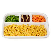 Reusable divided trays