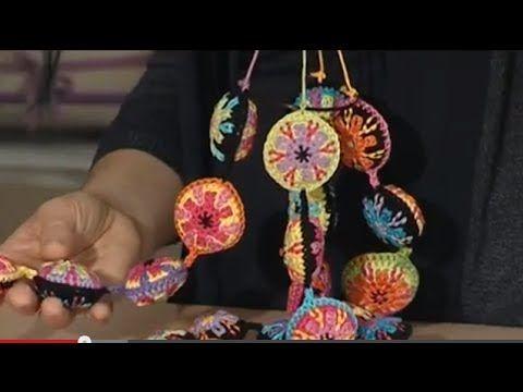 MANI DI LARA - Perle all'uncinetto con Luisa De Santi - YouTube