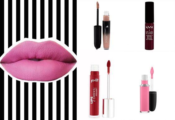 Matter Lippenstift: Das sind unsere Favorites