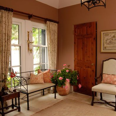 Terracotta paint colors design pictures remodel decor for Colores tierra para paredes interiores