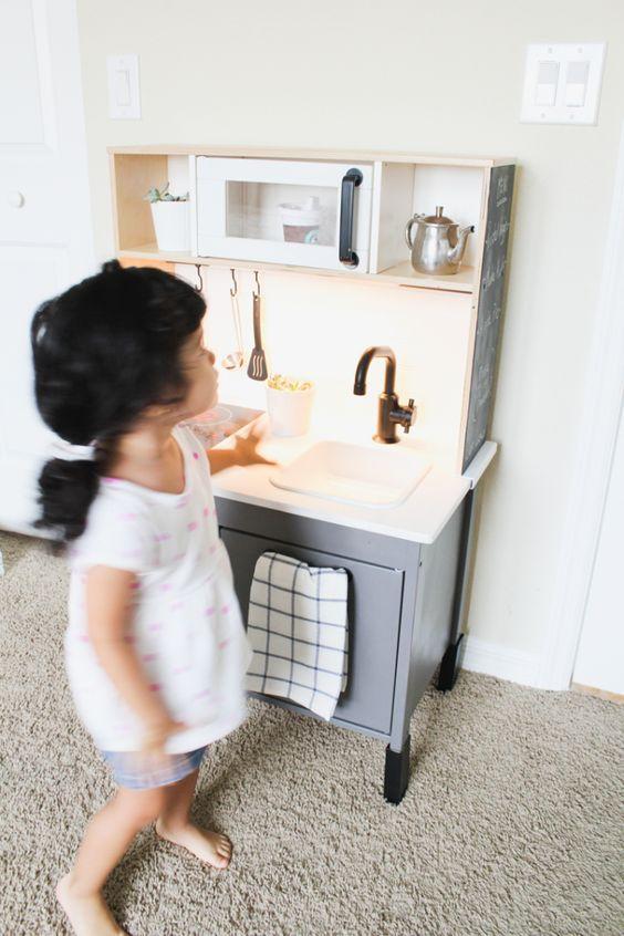 Ikea mini kitchen makeover mini kitchen ikea play kitchen and kitchen makeovers - Kitchen wow mini makeovers ...