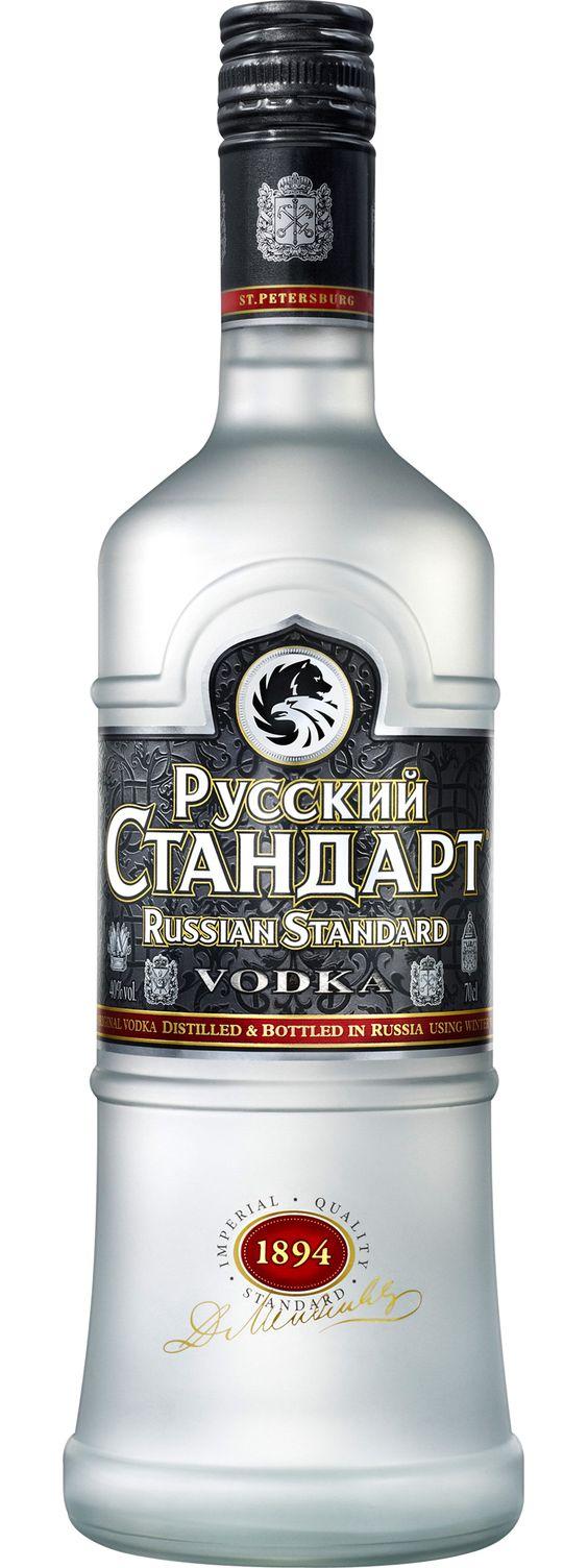 Russki Standart Vodka... horribly pronounced Russian Standard by the masses.: