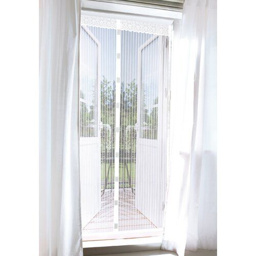 Easymaxx Magic Klick Mosquito Net Wayfair Co Uk Diy Screen Door Mosquito Net Home