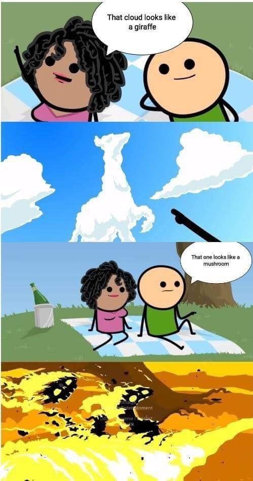 Hiroshima 1945 Colorized Dark Humor Jokes Dark Humour Memes Really Funny Memes