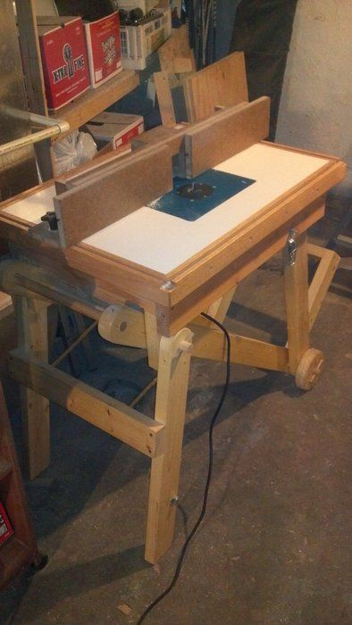 mobile router table