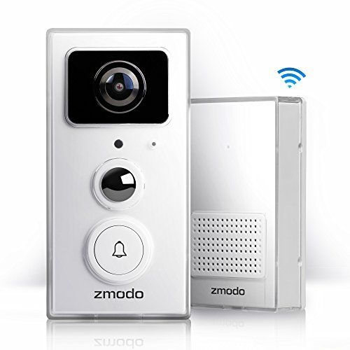 Zmodo Greet Universal Smart Video Doorbell Door Chime With 1080p Full Hd Wifi Night Vision Camera Ring Stick Up Cam Review Video Doorbell Smart Video Doorbell Chime