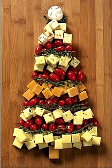 Cheese Christmas Tree: