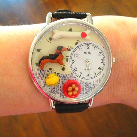 Dachshund watch