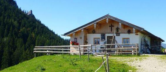 Eine der Jochberalmen in der 'ferienregion,#Unterwössen im #Chiemgau,#bayern,#bavaria,#hiking