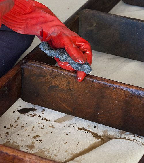 wood restoration using murphy 39 s oil soap tung oil finish. Black Bedroom Furniture Sets. Home Design Ideas
