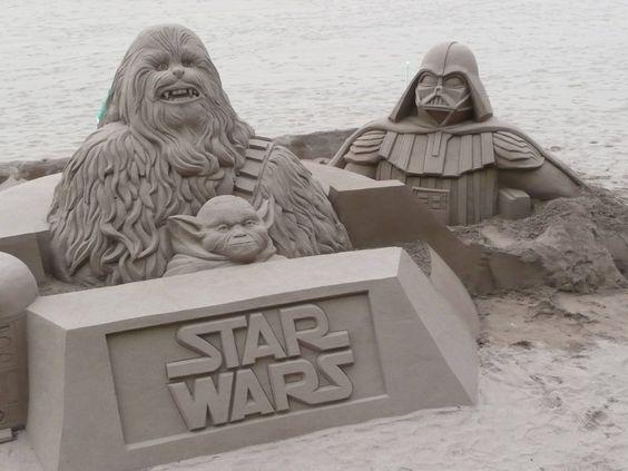 Amazing Sand Sculpture - Star Wars