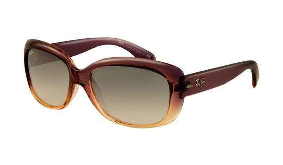 Ray Ban RB4101 Jackie Ohh Sunglasses Brown Frame Crystal Brown G
