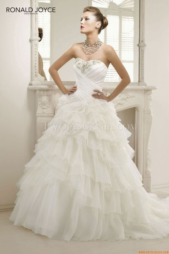 Wedding Dress Ronald Joyce Primavera 2013