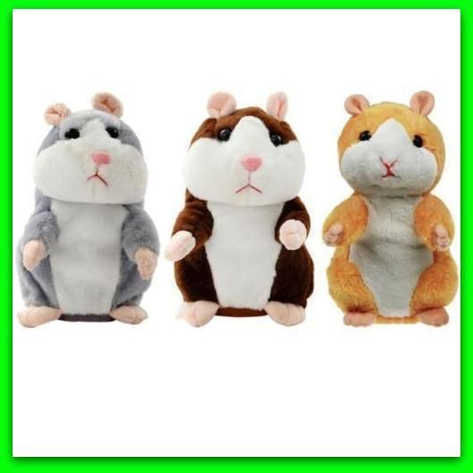 Talking Hamster Electronic Plush Toy Mouse Pet Sound Gift Children Plush Cute .