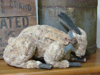 Vintage Cotton Quilt Rabbit