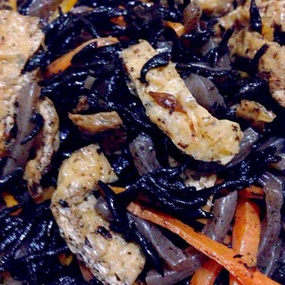 作り置き総菜 - 4件のもぐもぐ - ヒジキの煮物♥️ by rurimodeloveyou