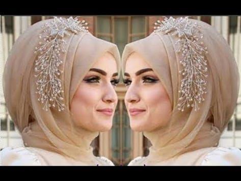 Easy Hijab Styles I Chiffon Hijab Youtube Easy Hijab Style Wedding Hijab Styles Hijab Style Tutorial