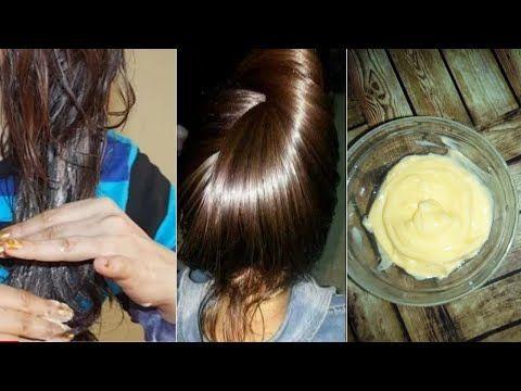 ضعيها لشعرك مرة فقط واتحداكي أن تستغني عنها اقوى كيراتين طبيعي لترطيب و تنعيم الشعر الخشن والمجعد Youtube Hair Care Cream Ice Cream