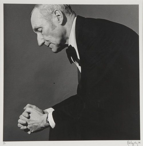 William S. Burroughs, 1979  Photograph by Robert Mapplethorpe