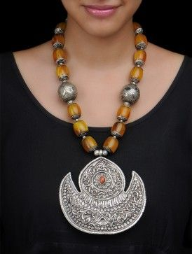 Ethno Silver Necklace