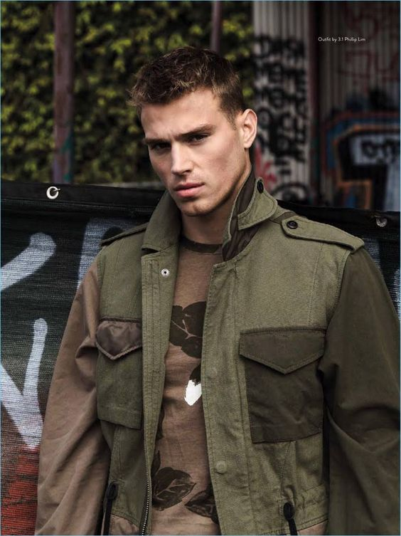 Matthew Noszka snags a new cover with the spring-summer 2017 issue of Da Man Style. Sporting bold styles, Matthew connects with photographer Mitchell Nguyen McCormack. The photographer collaborates with stylists Lauren Larocca and Oly Maly for the occasion. Front and center, Matthew wears brands such as Moschino and Martine Rose. Related: Matthew Noszka Dons Smart...[ReadMore]